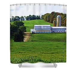 Dairy Country Shower Curtain