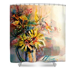 Daisy Day Shower Curtain