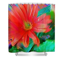 Daisy Fun Shower Curtain