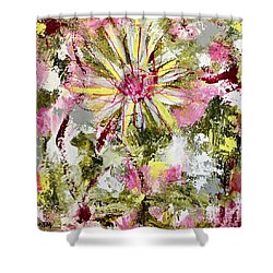 Daisies On Parade No. 1 Shower Curtain