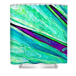 Daisy Petal Abstract 2 Shower Curtain