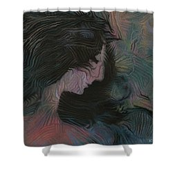 Dakota Shower Curtain by David Klaboe