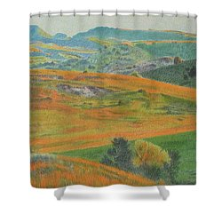 Dakota Prairie Dream Shower Curtain