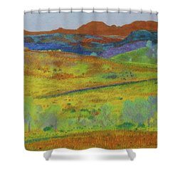 Dakota Territory Dream Shower Curtain