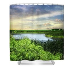 Dakota Wetlands 7 Shower Curtain