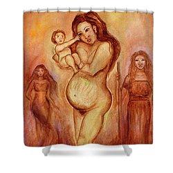 Dalaga, Ina, Mantanda Shower Curtain