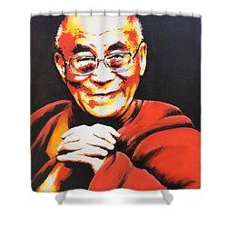 Dalai Lama Shower Curtain
