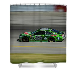 Dale Earnhardt At Mis 2017 Shower Curtain