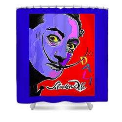 Dali Dali Shower Curtain