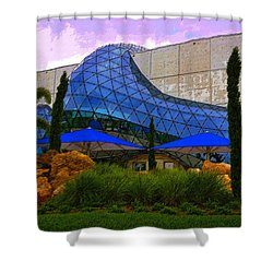 Dali Museum Shower Curtain by David Lee Thompson