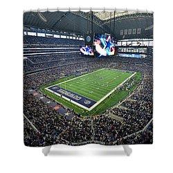 Dallas Cowboys Att Stadium Shower Curtain