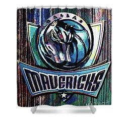 Dallas Mavericks Shower Curtain