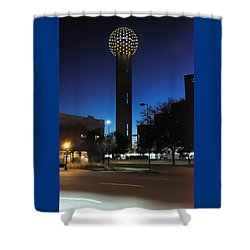 Dallas Reunion Tower Shower Curtain