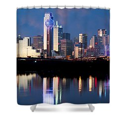 Dallas Skyline May 2015 Shower Curtain