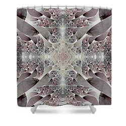 Damask Shower Curtain by Lea Wiggins