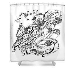 Damia Shower Curtain
