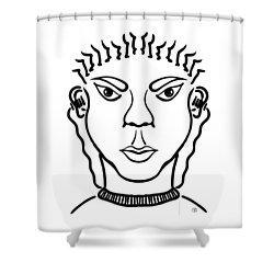 Damiao Shower Curtain
