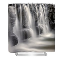 Dams Edge Shower Curtain