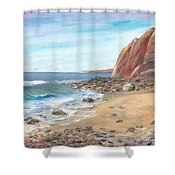 Dana Point Beach Shower Curtain