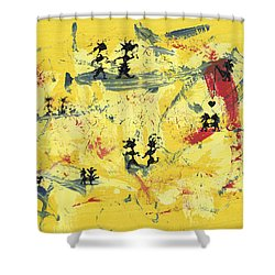 Dance Art Creation 1d9 Shower Curtain