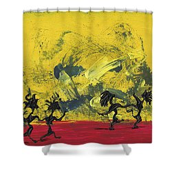 Dance Art Dancing Couple 22 Shower Curtain