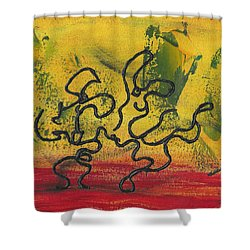 Dance Art Dancing Couple 57 Shower Curtain