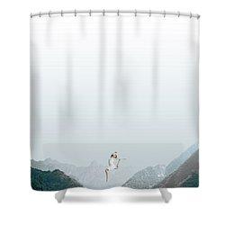 Dance Shower Curtain by Caterina Theoharidou