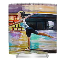 Dance Class Shower Curtain by John Williams