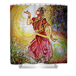 Dance Shower Curtain by Harsh Malik