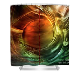 Dance In Color Symphony Shower Curtain