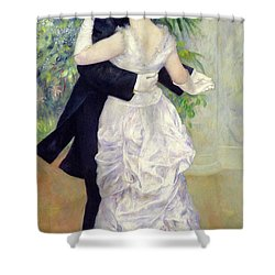 Dance In The City Shower Curtain by Pierre Auguste Renoir