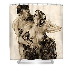 Dance Shower Curtain by Kurt Van Wagner