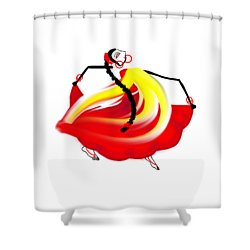 Dance Like No One's Watching Shower Curtain