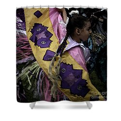 Dance Shower Curtain by Linda Shafer