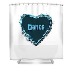 Dance Shower Curtain by Linda Prewer