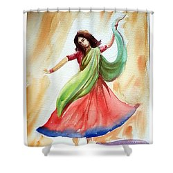 Dance Of Abandon Shower Curtain