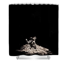 Dance Of Motion Shower Curtain