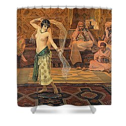 Dance Of The Seven Veils Shower Curtain