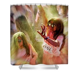 Shower Curtain featuring the photograph Dance by Okan YILMAZ