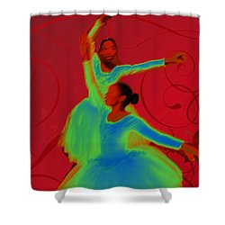 Shower Curtain featuring the photograph Dance Recital by Joseph Hollingsworth