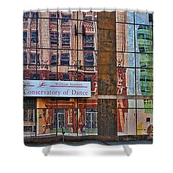 Shower Curtain featuring the photograph Dance by Skip Willits