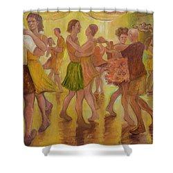 Dance Trance Shower Curtain