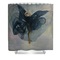 Dance With A Black Shawl Shower Curtain