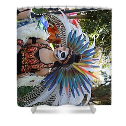523d398cc50 Dancer Day Of The Dead II Shower Curtain