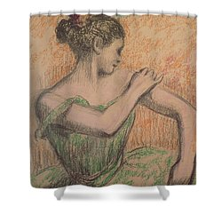 Dancer Shower Curtain by Degas