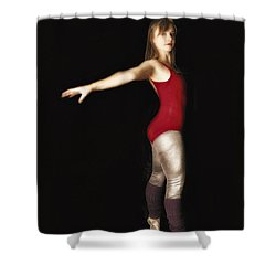 Shower Curtain featuring the photograph Dancer  No. 4 ... by Chuck Caramella