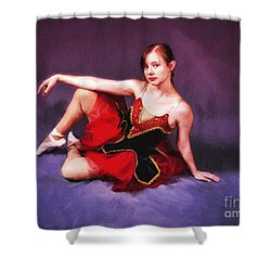 Shower Curtain featuring the photograph Dancer No. 6  ... by Chuck Caramella