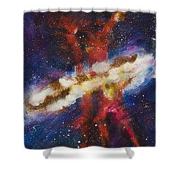 Dancers Of The Nebula Shower Curtain