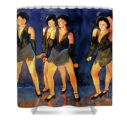 Dancers  Spring Glitz     Shower Curtain
