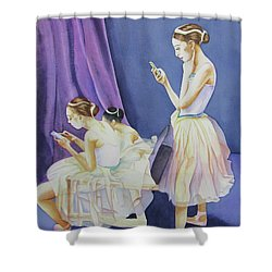 Dancer's Shower Curtain